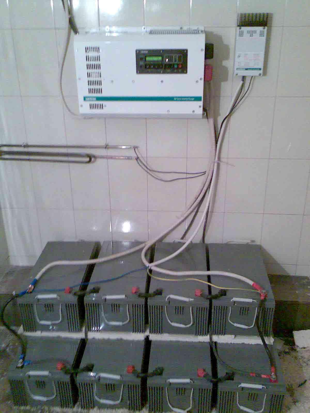 схема подключения, инвертор, аккумуляторы,бесперебойное питание для дома и дачи